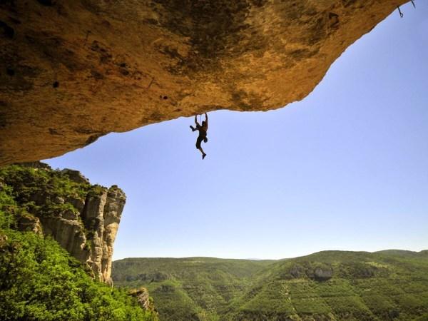 Rock Climbing Mount Baldy San Bernardino California Usa