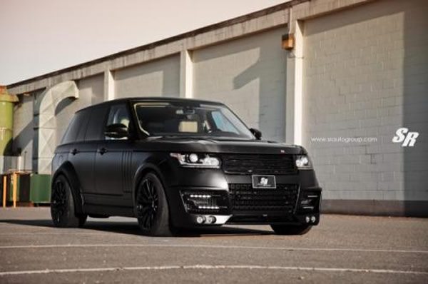 Range Rover preparado pela SR Auto Group com acessórios Lumma Design 1