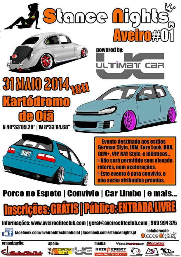 Stance Night Aveiro – Edition 01