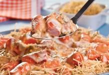 Salsichas Gratinadas