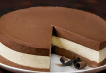 Torta Mousse 3 Sabores