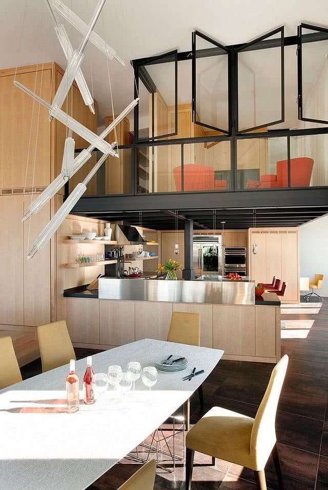 kitchen island home depot water faucet 欧美流行家居 15个经典的现代家庭厨房 给你未来的家带来一点灵感 雪花新闻 有足够的垂直空间 旧的结构