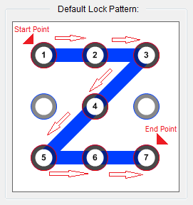 XUS PC Lock Default Pattern