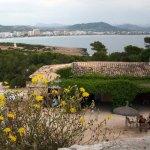 Punta de n'Amer – Hinauf zum Kastell