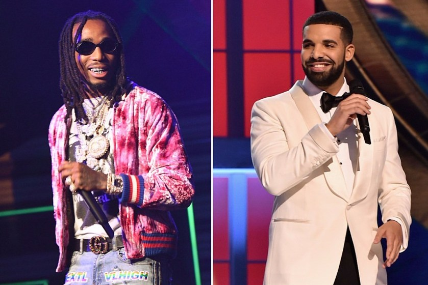 Image result for drake and quavo