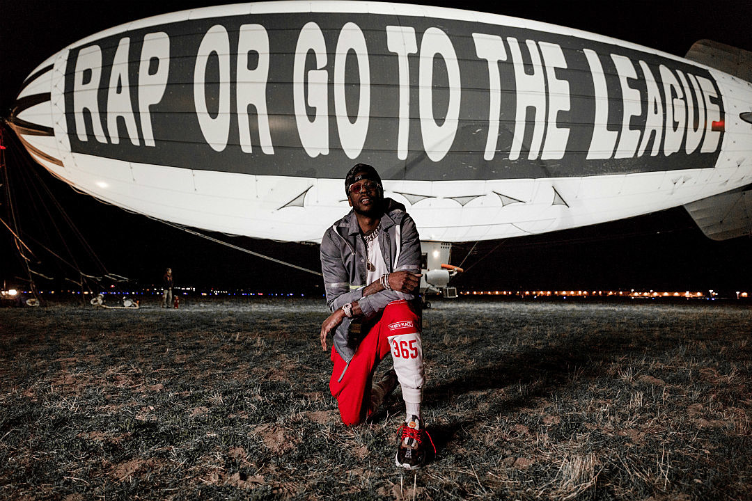 Image result for 2 CHAINZ SHARES NAME OF NEW ALBUM ON A BLIMP