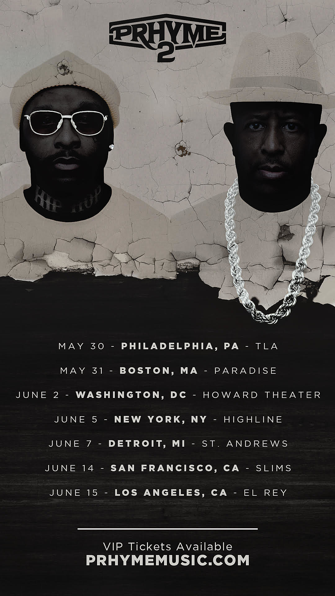 Image result for prhyme 2 tour