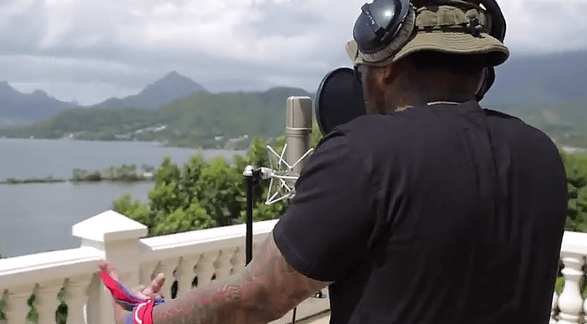Kevin Gates Spends the Day at Home in the Khaza Video
