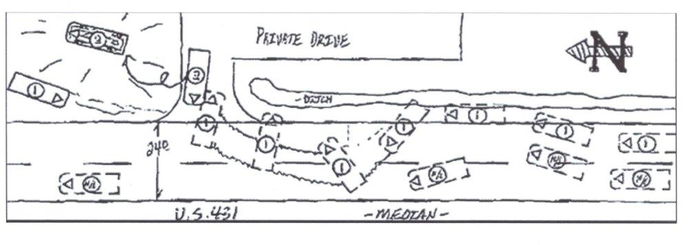 medium resolution of hand drawn sketch car accident