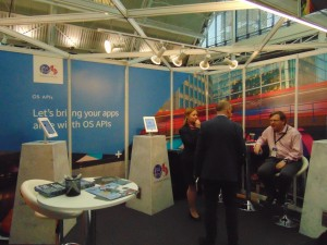 Ordnance Survey of the UK booth