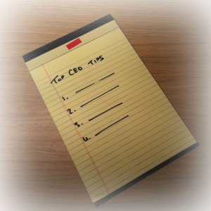 List of CEO top tips