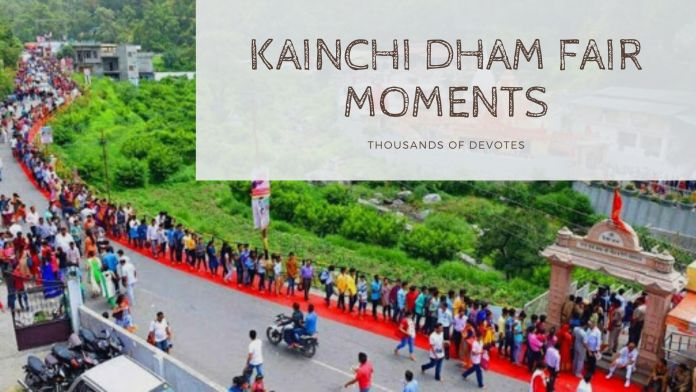 Kainchi Dham Fair Images 15 July Images, Information and full details.