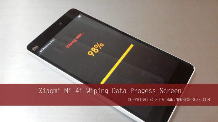 How To Hard Reset Xiaomi Mi 4i 5