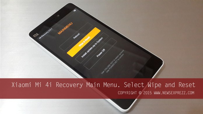 How To Hard Reset Xiaomi Mi 4i 2