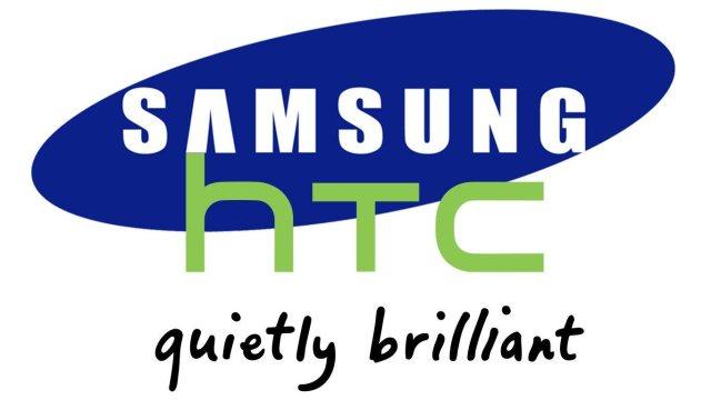 samsung-htc-logo