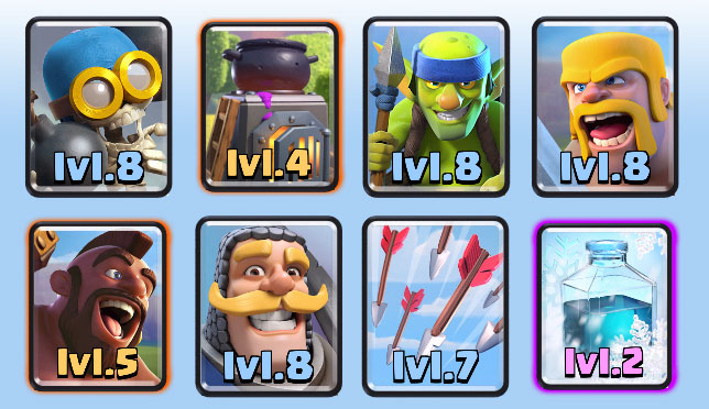 Best Clash Royale Deck Arena 6 7 8 Updated Xyz Times