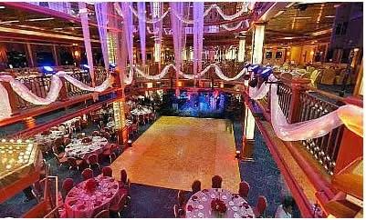 Cornucopia Majesty Yacht Charter Wedding Corporate
