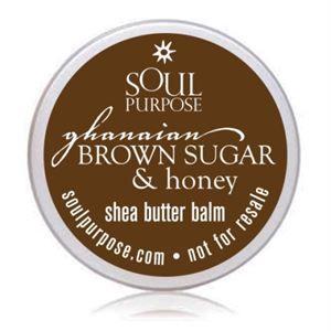 0003911 Ghanaian Brown Sugar Honey Body Balm Sample Pack 20 Pack 300