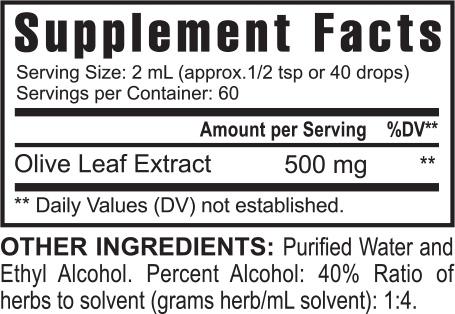 Usgh0038 Gh Usgh000019 Super Olive Health Suppfacts 0715