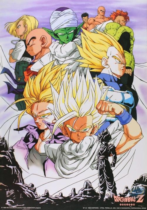 Vente en ligne Affiche Offset - Dragon Ball Z - Dragon Ball Z n°6