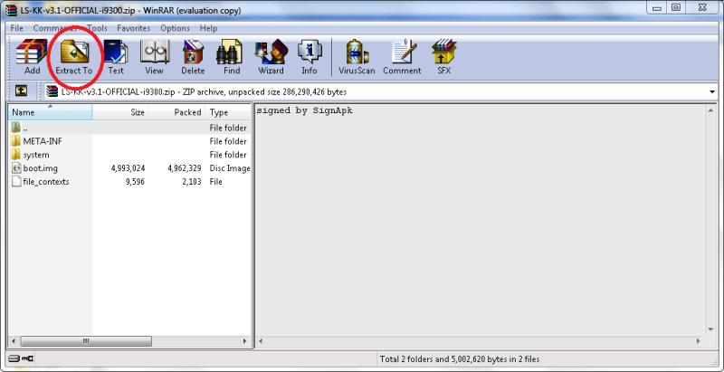 ROM zip file