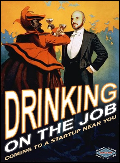 Yaacov Apelbaum-Drinking on the job