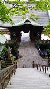 Yaacov Apelbaum - Narita Village Temple Steps