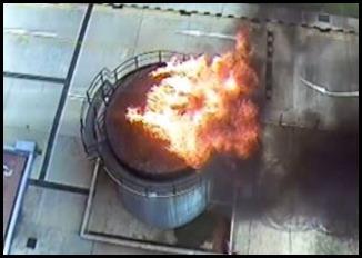 Oil Burn sUAS