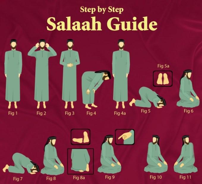 Salafy Prayer Posture-3