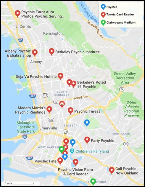 Berkeley Psychics