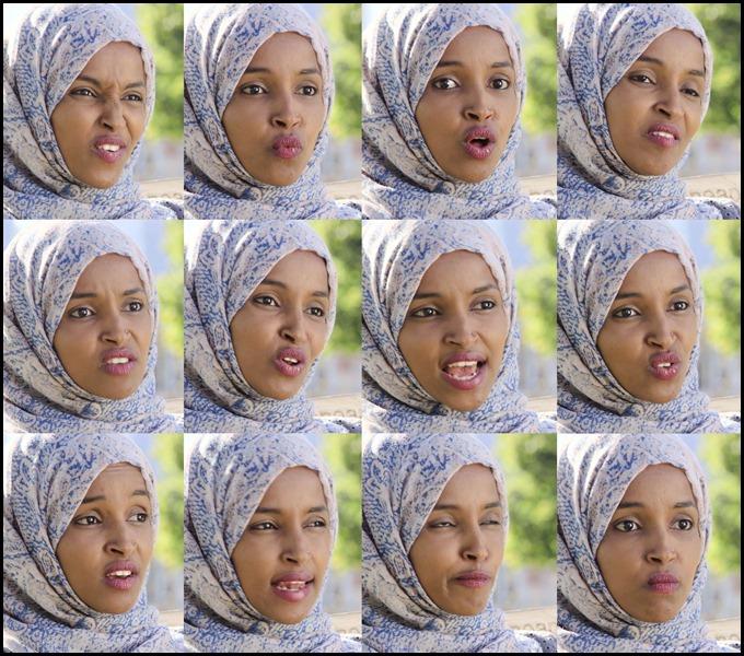 Ilhan Omar Interview Facial Set