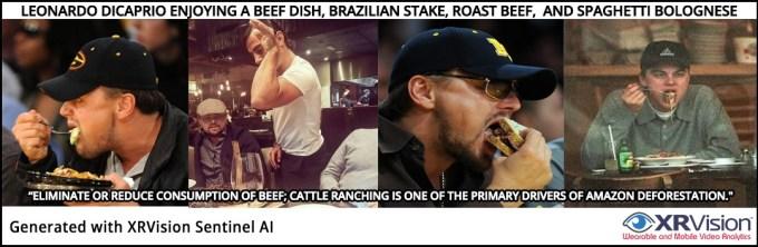 Leonardo DiCaprio and Beef