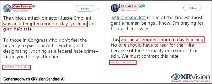 Harris Booker Smollett Comments