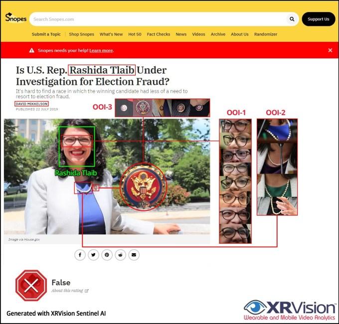 Snopes Rashida Tlaib Under Investigation for Election Fraud