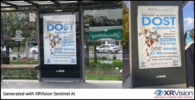 Anti-Christian, Jewish billboards in Turkey's central Konya province