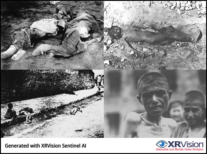 Armenian Children Victims of Genocide