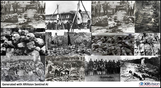 Armenian Genocide by Turkish Muslims