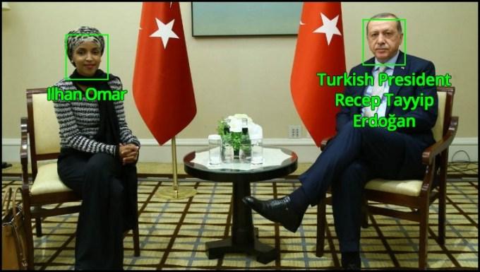 Ilhan Omar and Erdoğan 2017