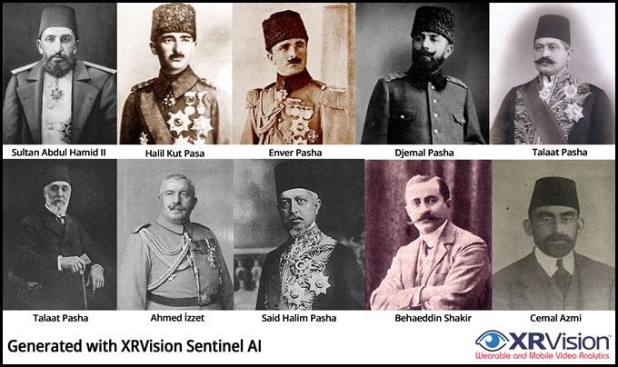 The 1915 Turkish Jihad Leadership