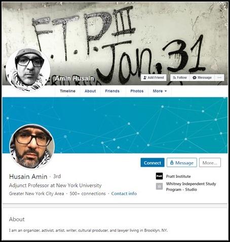 Husain Amin Profiles