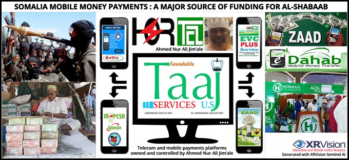 Somalia Mobile money Payments a major source of funding for Al-Shabaab