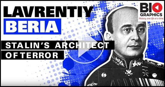 Beria Lavrentiy Stalin's Architect of Terror