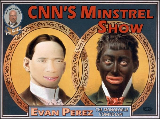 Evan Perez Blackface