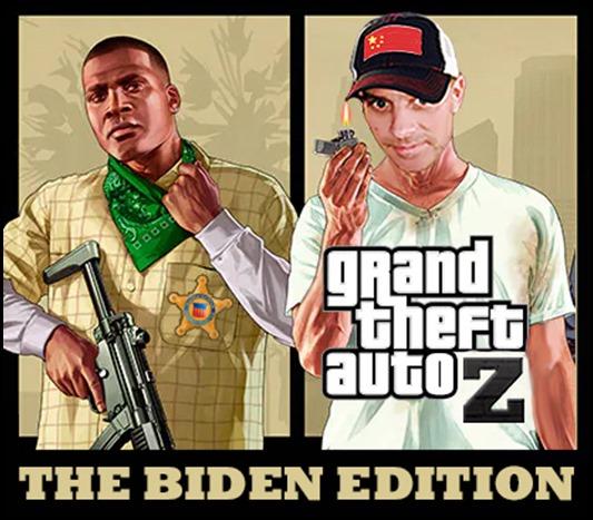 Biden Grand Auto Thetf Edition