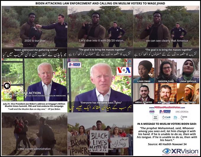 Biden's call for Jihad in the US