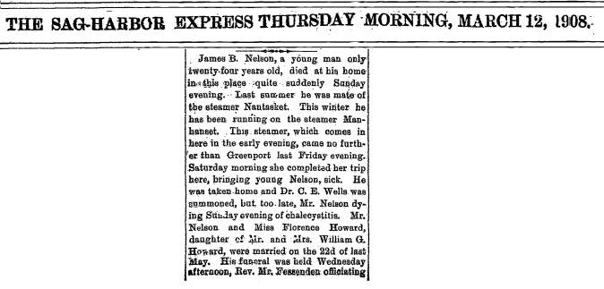 James Nelson is Dead 3-12-1908 Clip