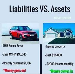 Reducating Jamaicans on Assets vs Liabilities