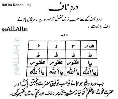 Naf ka Rohani Ilaj_yaALLAH.in