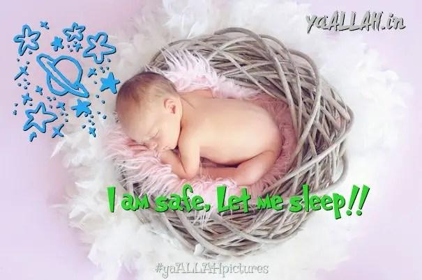 sleeping-kid-child-lying-new-born-baby-normal-safe-child-delivery-wazifa-bache-ki-paidaish-ki-dua-300916-#yaALLAHpictures