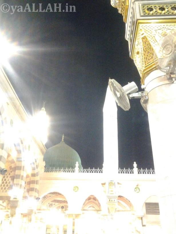 Masjid Nabawi Wallpaper At Night_yaALLAH.in_28